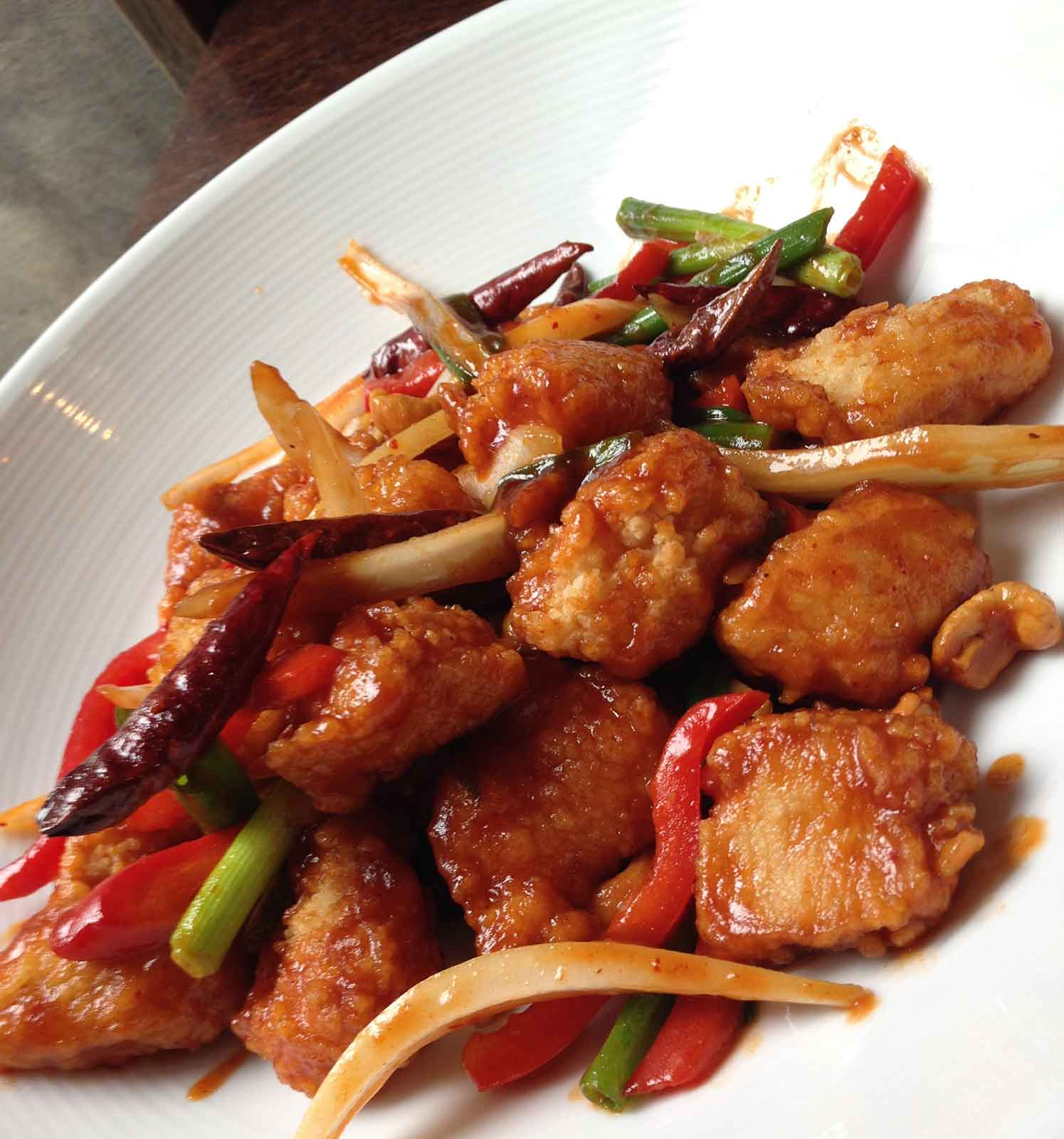 Crispy Chicken & Cashew Nuts