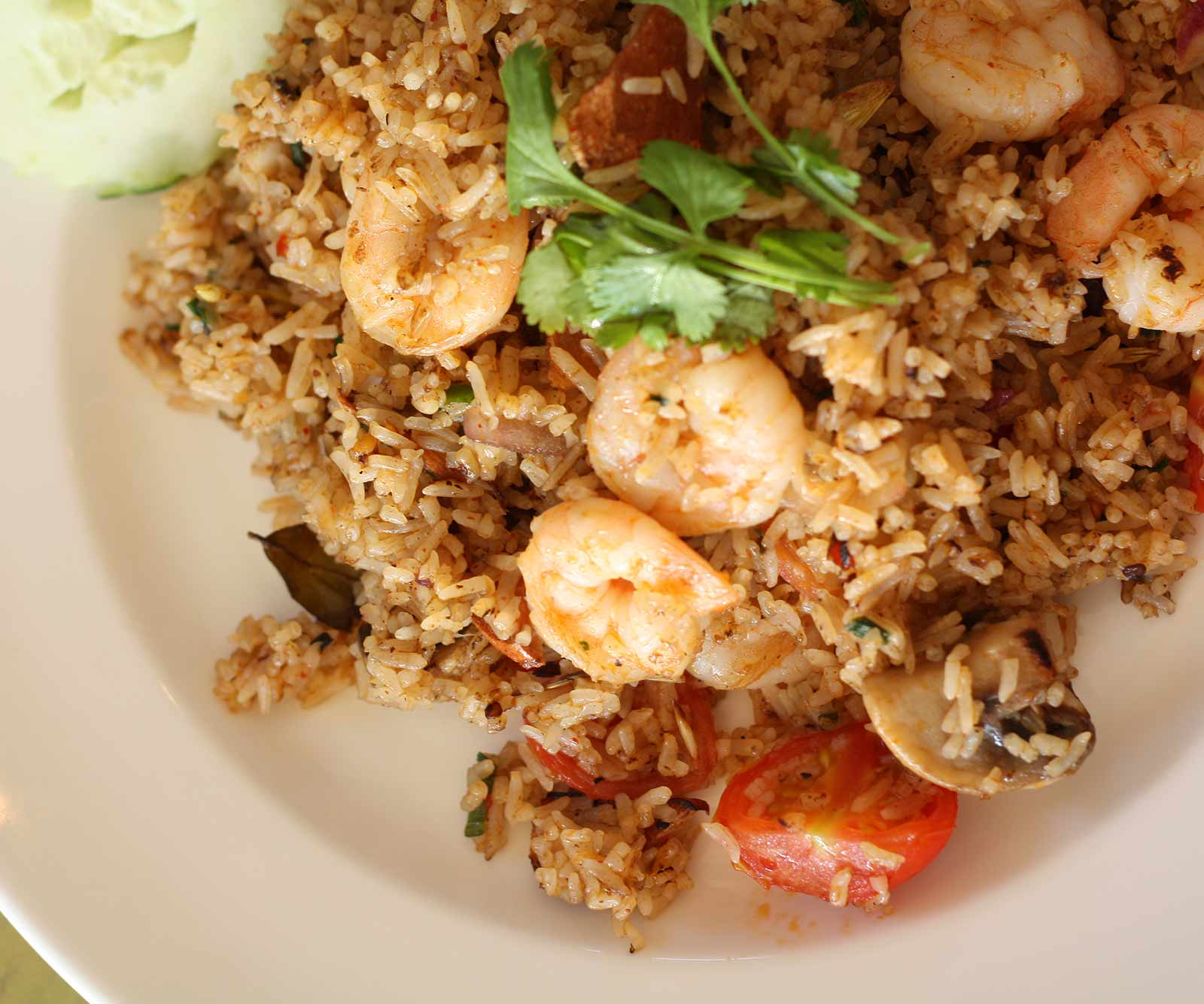 Shrimp Tom Yum Fried rice